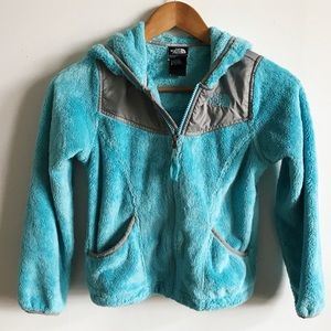 Girl's North Face Blue Jacket - S